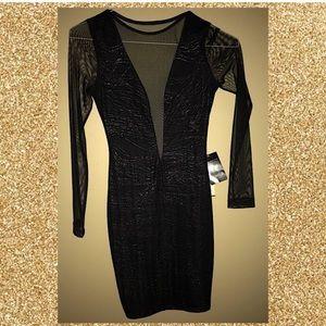 Xs Arden B black club dress